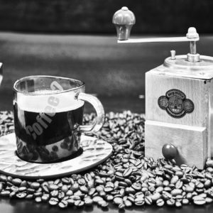 Kaffee Pause (S/W) | © 2020 by Karl - Heinz Schultze (KHSFotographie)